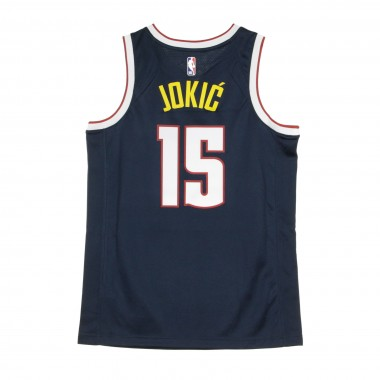 CANOTTA BASKET NBA SWINGMAN JERSEY ICON EDITION 2020 NO 15 NIKOLA JOKIC DENNUG