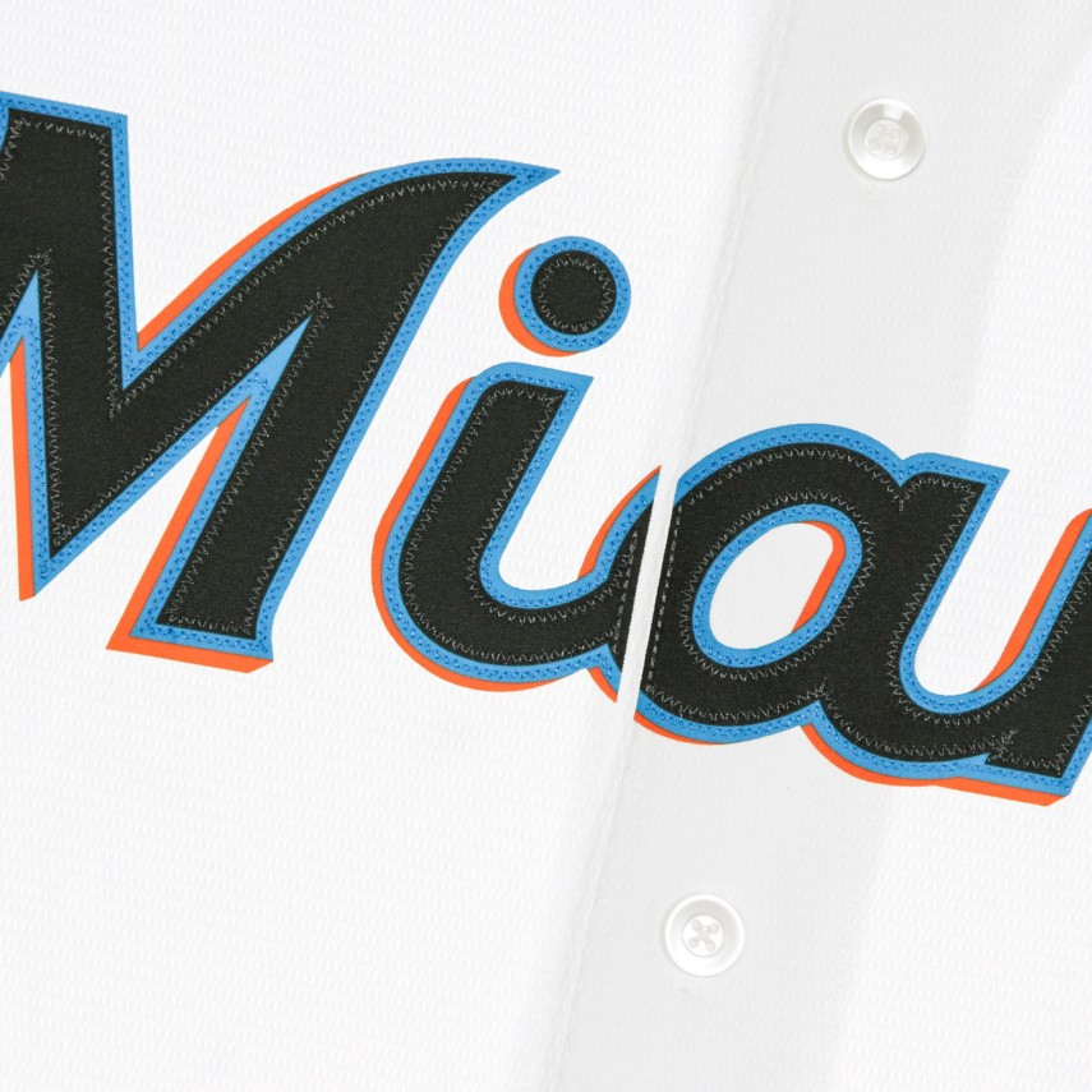 CASACCA BASEBALL MLB OFFICIAL REPLICA HOME JERSEY MIAMAR