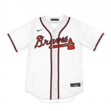 CASACCA BASEBALL MLB OFFICIAL REPLICA HOME JERSEY ATLBRA
