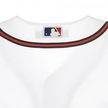 CASACCA BASEBALL MLB OFFICIAL REPLICA HOME JERSEY ATLBRA