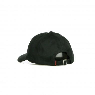 CAPPELLINO VISIERA CURVA BLACK  RED DAD HAT