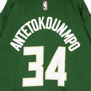FELPA CAPPUCCIO NBA ESSENTIAL HOODIE NO 34 GIANNIS ANTETOKOUNMPO MILBUC