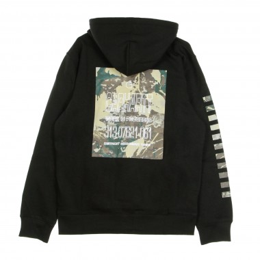 FELPA CAPPUCCIO HOODED CAMO MILL