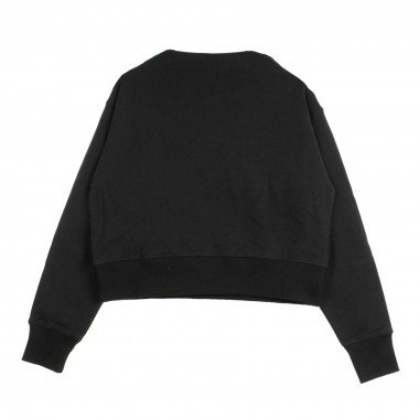 FELPA COLLO ALTO CORTA HIGHT NECK SWEATSHIRT