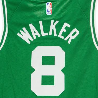 CANOTTA BASKET NBA SWINGMAN JERSEY ICON EDITION 2020 NO 8 KEMBA WALKER BOSCEL