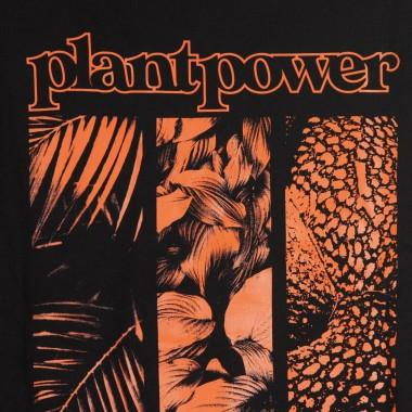 FELPA CAPPUCCIO ZIP PLANT POWER ZIP HOODIE