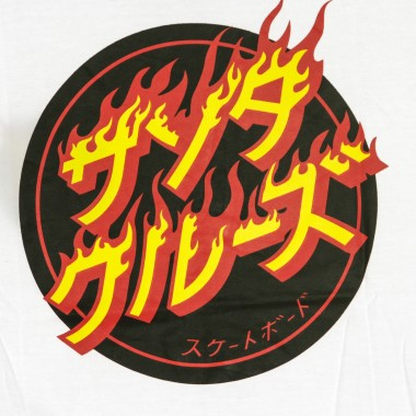 MAGLIETTA FLAMING JAPANESE DOT TEE