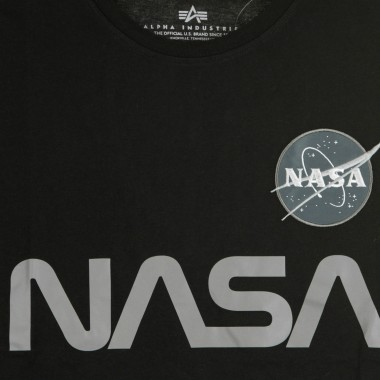 MAGLIETTA NASA REFLECTIVE T-SHIRT