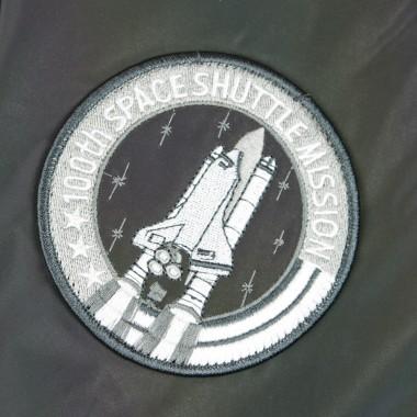 GIUBBOTTO BOMBER MA-1 NASA RAINBOW REFLECTIVE
