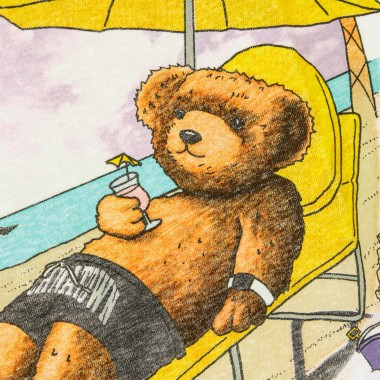 MAGLIETTA SMILEY BEACH BEAR