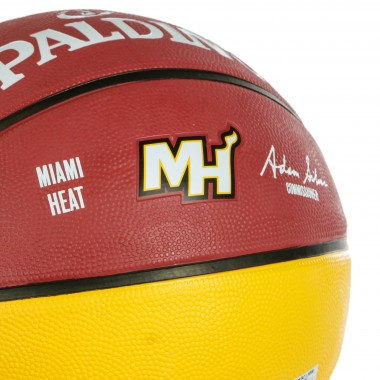 PALLONE NBA TEAM BALL SIZE 7 MIAHEA