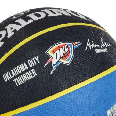 PALLONE NBA TEAM BALL SIZE 7 OKLTHU
