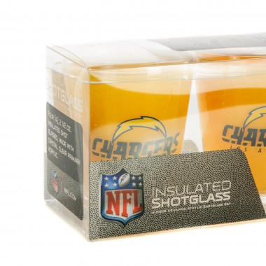 BICCHIERE NFL 4 SHOT GLASSES SET LOSCHA
