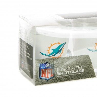 BICCHIERE NFL 4 SHOT GLASSES SET MIADOL