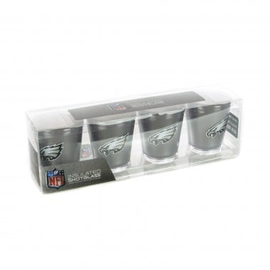 BICCHIERE NFL 4 SHOT GLASSES SET PHIEAG
