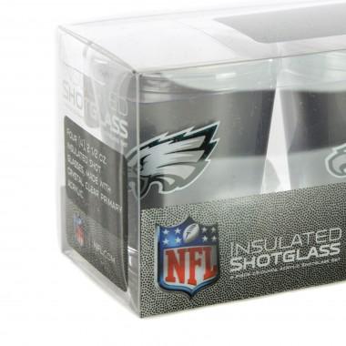 BICCHIERE NFL 4 SHOT GLASSES SET PHIEAG Array
