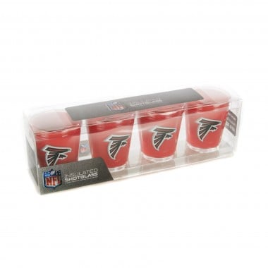 BICCHIERE NFL 4 SHOT GLASSES SET ATLFAL