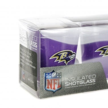 BICCHIERE NFL 4 SHOT GLASSES SET BALRAV