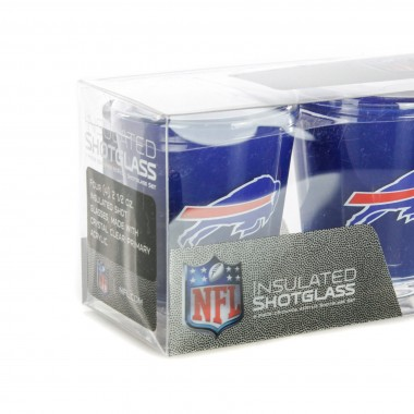 BICCHIERE NFL 4 SHOT GLASSES SET BUFBIL
