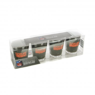 BICCHIERE NFL 4 SHOT GLASSES SET CLEBRO