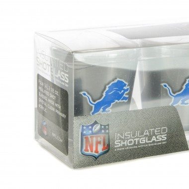 BICCHIERE NFL 4 SHOT GLASSES SET DETLIO