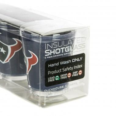 BICCHIERE NFL 4 SHOT GLASSES SET HOUTEX