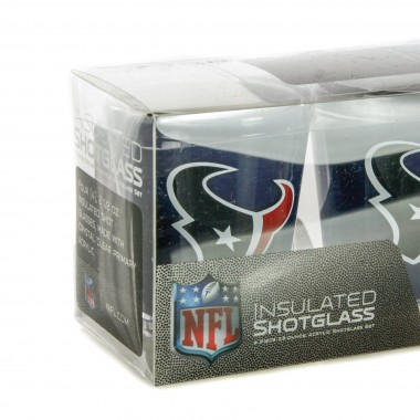 BICCHIERE NFL 4 SHOT GLASSES SET HOUTEX