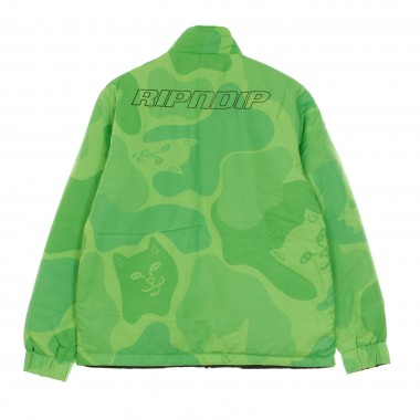 GIACCA COACH JACKET NEO NERM REVERSIBLE FIELD PUFFER