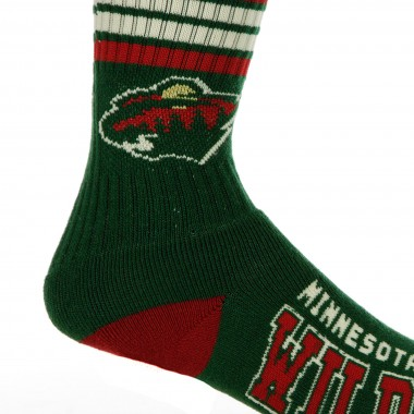 CALZA MEDIA NHL STRIPES CREW SOCKS MINWIL