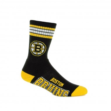 CALZA MEDIA NHL STRIPES CREW SOCKS BOSBRU