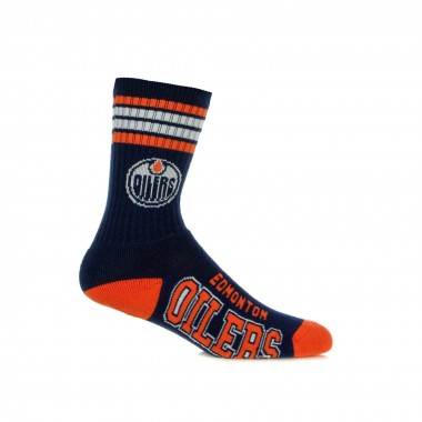 CALZA MEDIA NHL STRIPES CREW SOCKS EDMOIL