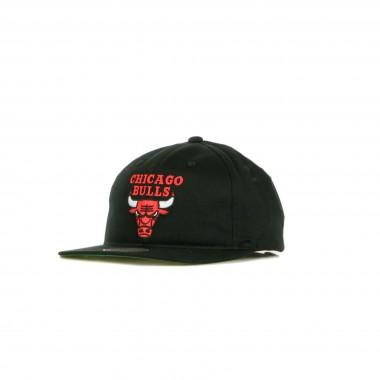 CAPPELLINO VISIERA PIATTA NBA TEAM LOGO DEADSTOCK THROWBACK SNAPBACK CHIBUL