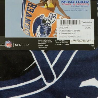 ASCIUGAMANO NFL BEACH TOWEL DENBRO