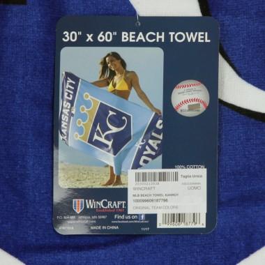 ASCIUGAMANO MLB BEACH TOWEL KANROY