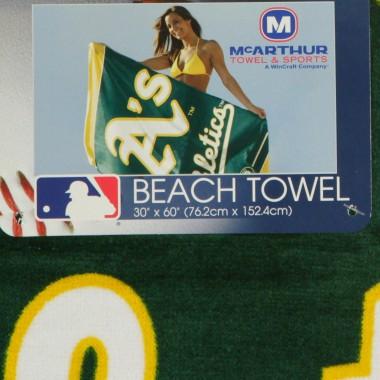 ASCIUGAMANO MLB BEACH TOWEL OAKATH