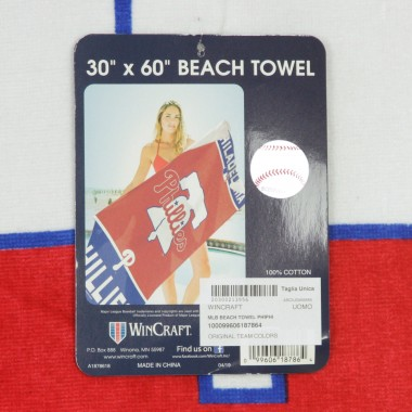 ASCIUGAMANO MLB BEACH TOWEL PHIPHI
