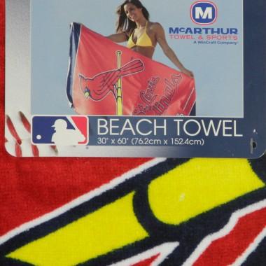 ASCIUGAMANO MLB BEACH TOWEL STLCAR