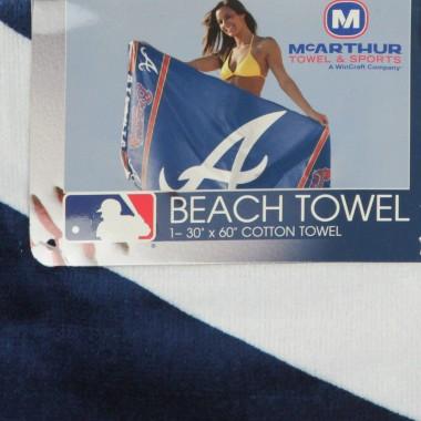ASCIUGAMANO MLB BEACH TOWEL ATLBRA