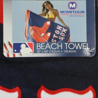 ASCIUGAMANO MLB BEACH TOWEL BOSRED