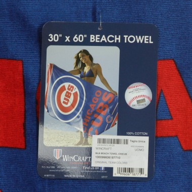 ASCIUGAMANO MLB BEACH TOWEL CHICUB