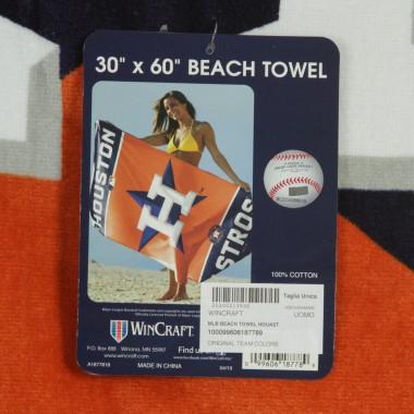 ASCIUGAMANO MLB BEACH TOWEL HOUAST