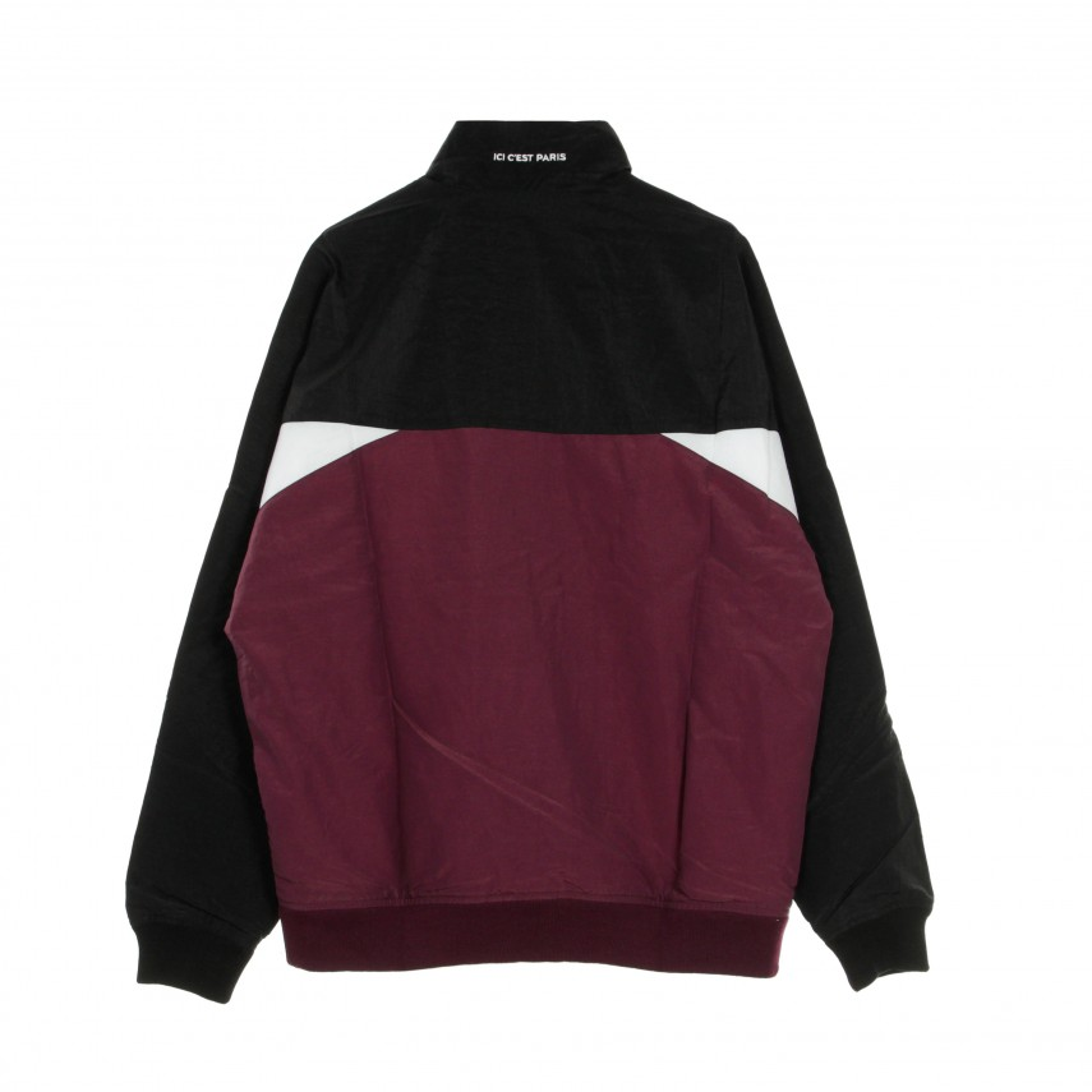 giacca tuta uomo paris saint-germain jacket BLACK/BORDEAUX/WHITE/METALLIC GOLD