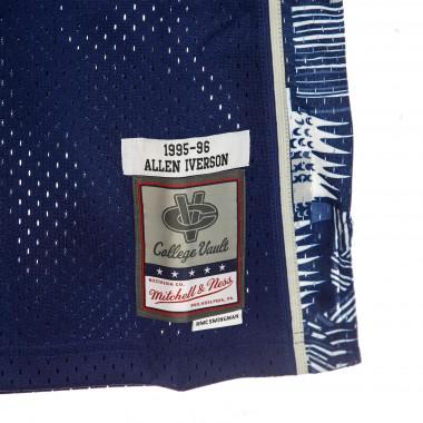 CANOTTA BASKET NCAA SWINGMAN JERSEY NO3 ALLEN IVERSON 1995-96 GEOHOY ROAD XL