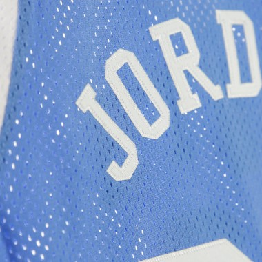 CANOTTA BASKET NCAA AUTHENTIC JERSEY NO23 MICHAEL JORDAN UNCTAR HOME XL