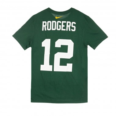 MAGLIETTA NFL PLAYER  ESSENTIAL TEE N12 RODGERS GREPAC