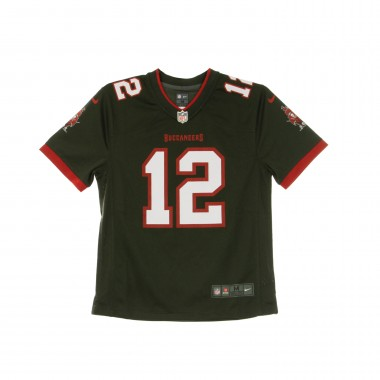 CASACCA FOOTBALL AMERICANO NFL GAME TEAM JERSEY NO12 TOM BRADY TAMBUC