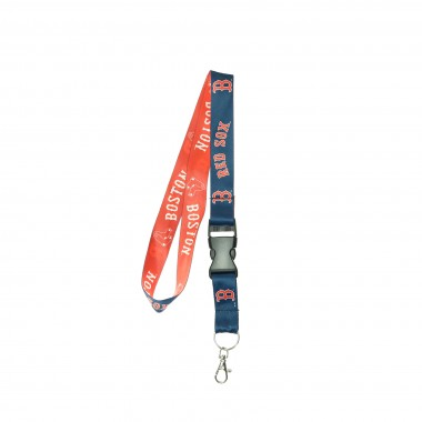 PORTACHIAVI LACCETTO MLB LANYARD WITH BUCKLE BOSRED