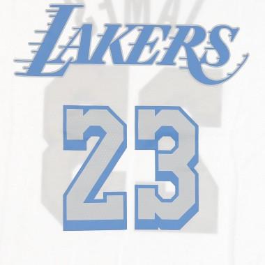 MAGLIETTA NBA TEE ESSENTIAL CITY EDITION NO 23 LEBRON JAMES LOSLAK