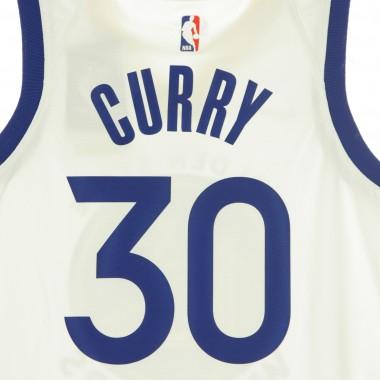 CANOTTA BASKET NBA SWINGMAN JERSEY ASSOCIATION EDITION 2020 NO 30 STEPHEN CURRY GOLWAR
