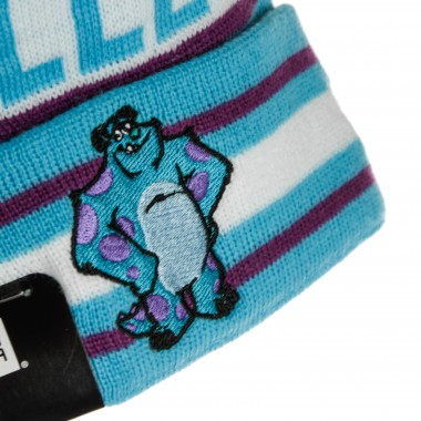 CAPPELLO NE KIDS CHARACTER KNIT MONSTER INC